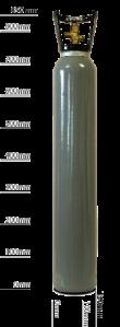 9ltr_Bottle_Grey carbon dioxide co2 no white background