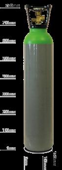 9ltr_Bottle_Lt_Green beer gas no white background