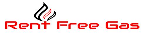 Rent Free Gas Logo